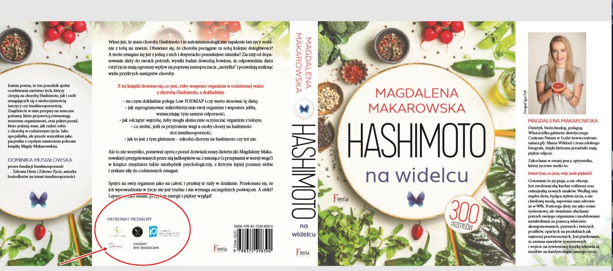 Hashimoto Na Widelcu Ksiazka Magdaleny Makarowskiej Pod Moim