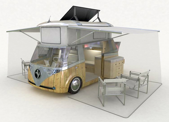 le camping car passe partout le combi volkswagen du futur. Black Bedroom Furniture Sets. Home Design Ideas