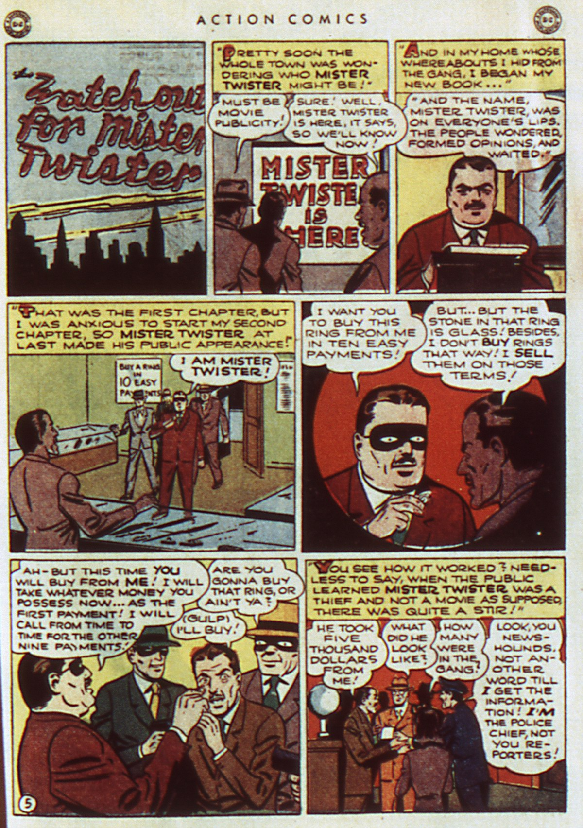 Read online Action Comics (1938) comic -  Issue #96 - 7