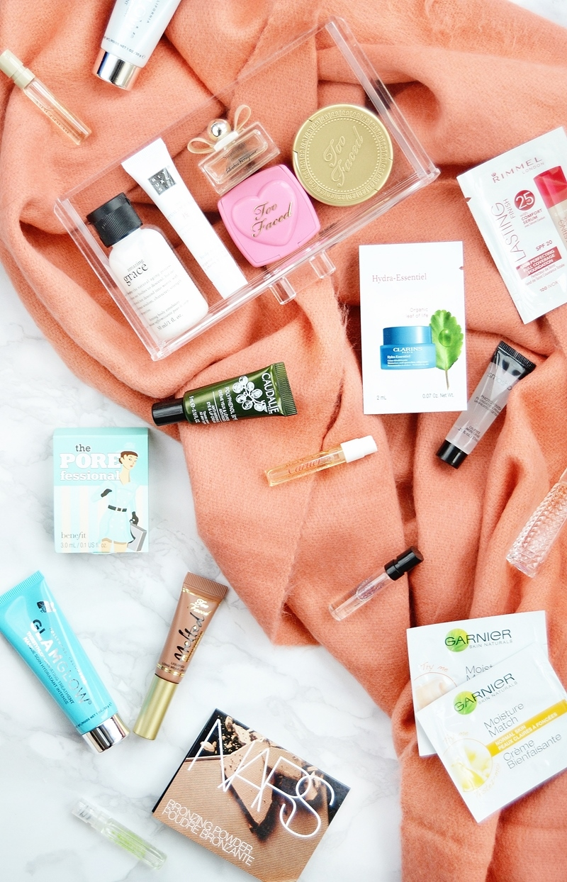 Travel Size Makeup Samples