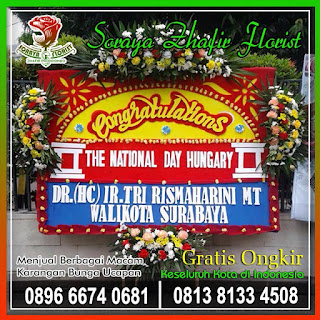 Toko Bunga Terdekat bunga papan congrats
