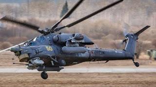 Medan Suriah Jadi Uji Coba Helikopter Baru Rusia Mi-28UB