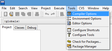How to compile in dev c++