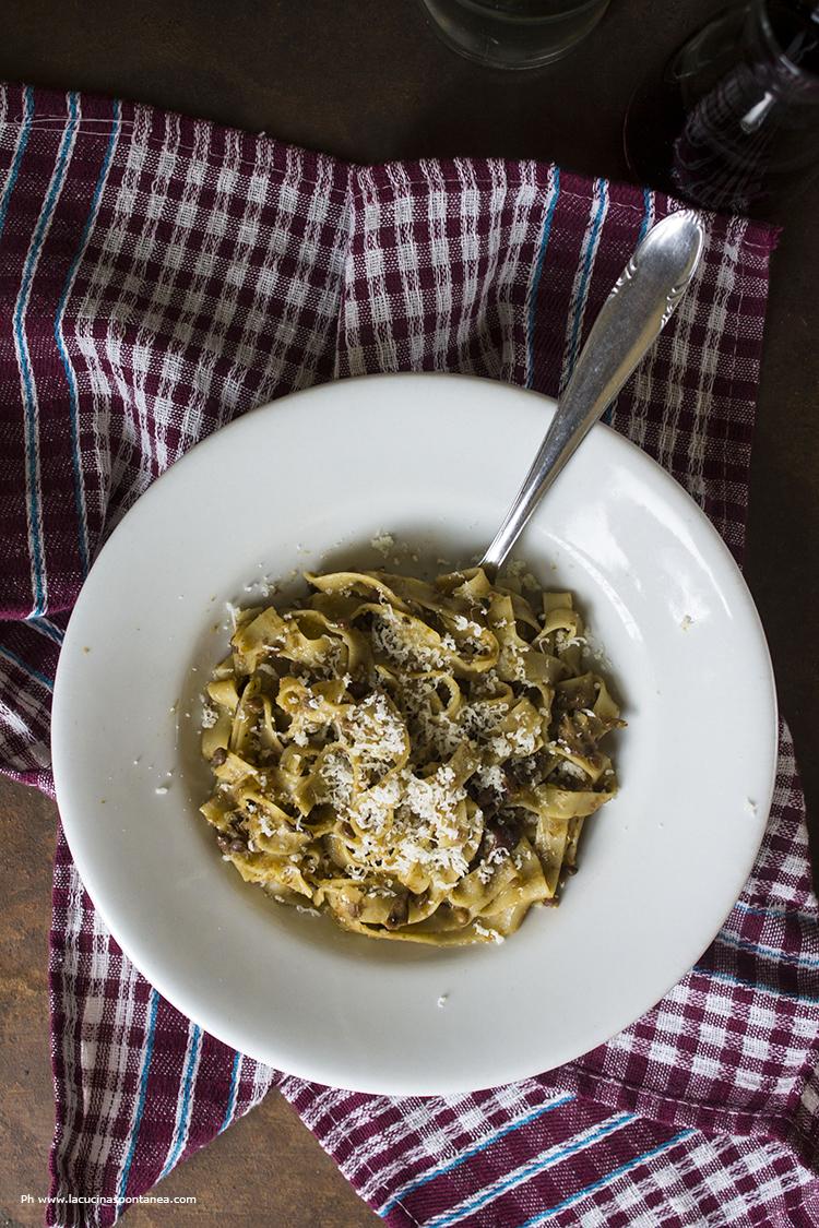 Ricetta Lenticchie E Funghi.Fettuccine Con Lenticchie E Funghi Porcini La Cucina Spontanea Ricette Fotografie E Parole