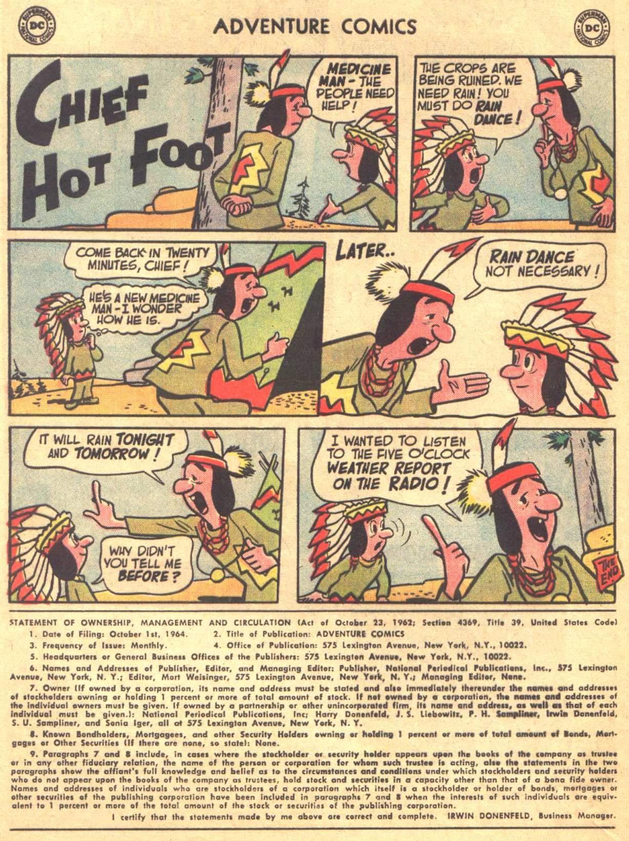 Read online Adventure Comics (1938) comic -  Issue #330 - 21