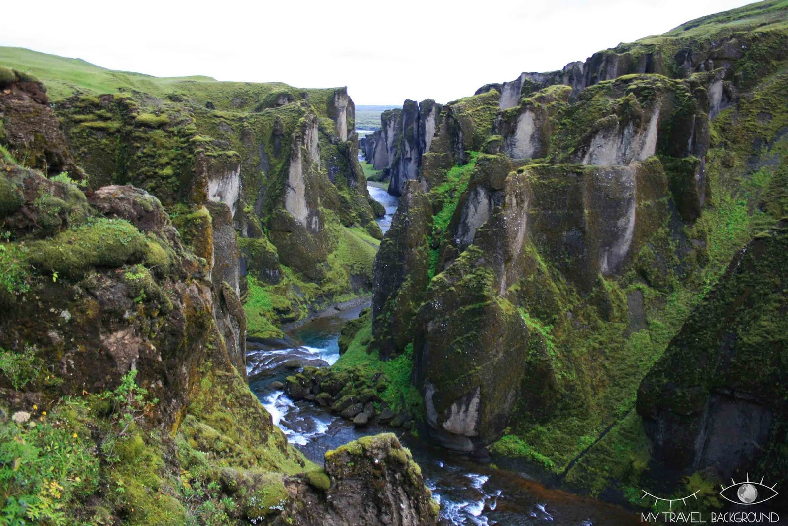 My Travel Background : le sud de l'Islande, de Vik à Höfn - Le canyon de Fjadrargljufur