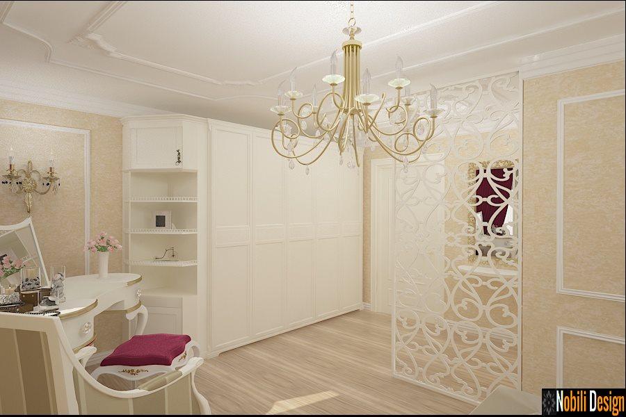 Design interior case vile clasice - Amenajari interioare mobilier clasic de lux / Brasov