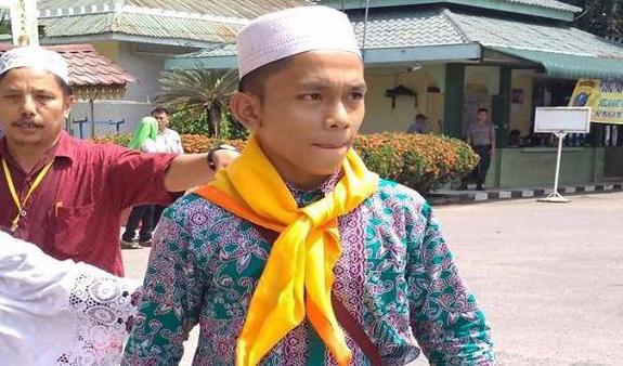 Rajin Menabung Sejak SMP Amir Menjadi Jamaah Haji Termuda