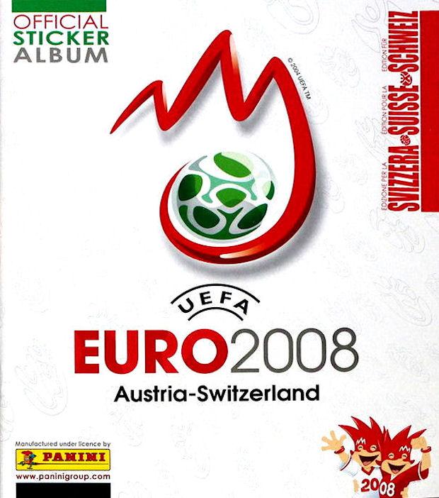 PANINI EURO em 2016-sticker logo 350-Turchia