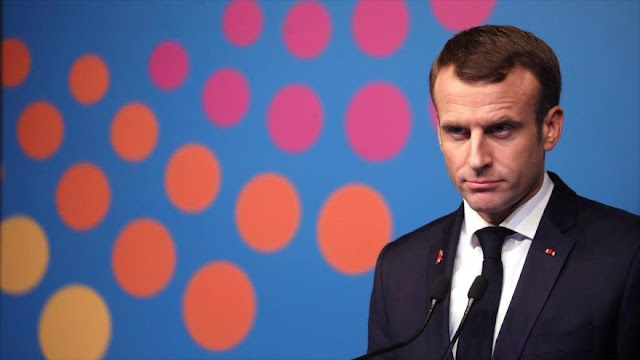 """Macron: Jamás aceptaré la violencia de """"chalecos amarillos"""""""
