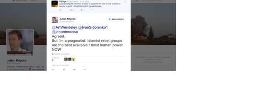 Δημοσιογράφος της Bild υπέρ των ισλαμιστών