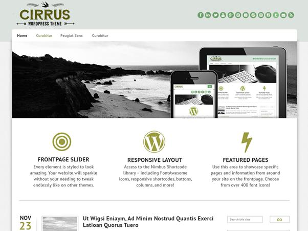 Cirrus WP Theme