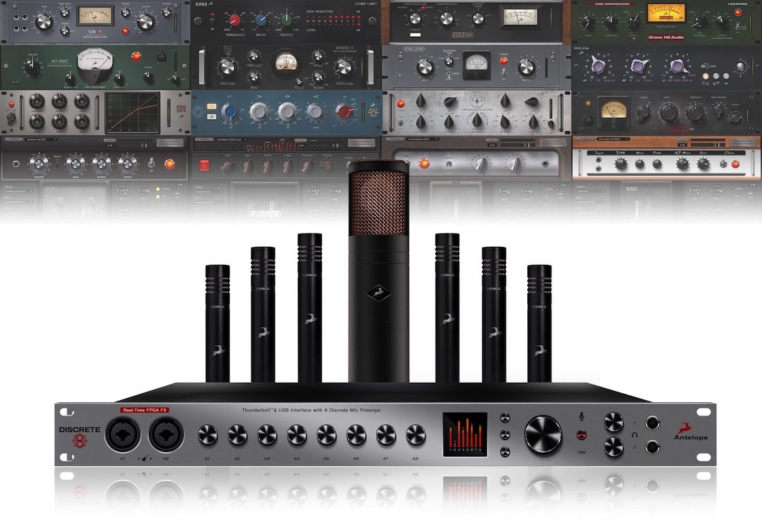 Dcsi Antelope Audio Ships Discrete 8 And 4 Mic Preamp Circuits Microphone Amplifier Usb Interface With Preamps Was Developed After Undertook Extensive Research Into Illustrious Circuitry