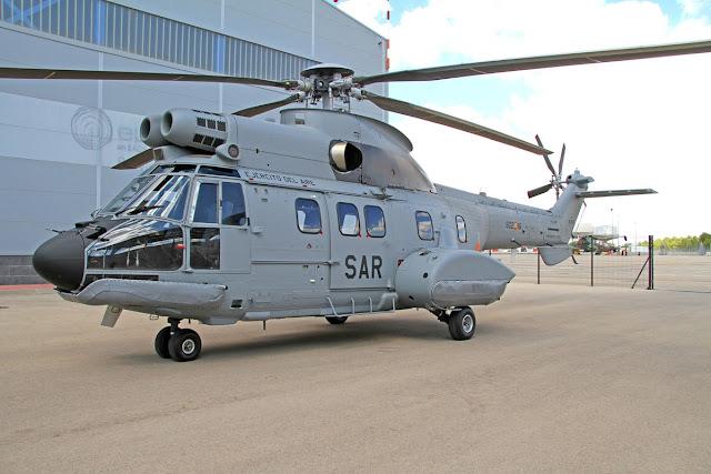 El 802 Escuadrón SAR incorpora un helicóptero Super Puma nuevo