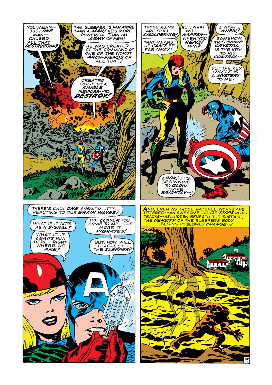 Read online Captain America (1968) comic -  Issue #102 - 16