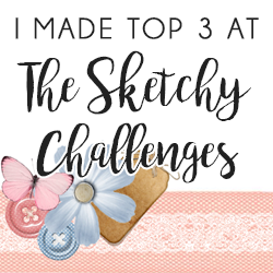 Top 3 at The Sketchy Challenges!