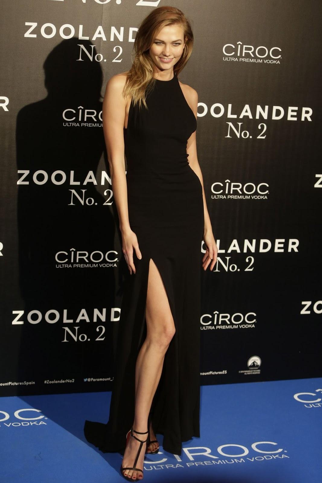 Karlie Kloss at Zoolander 2 Screening in Madrid
