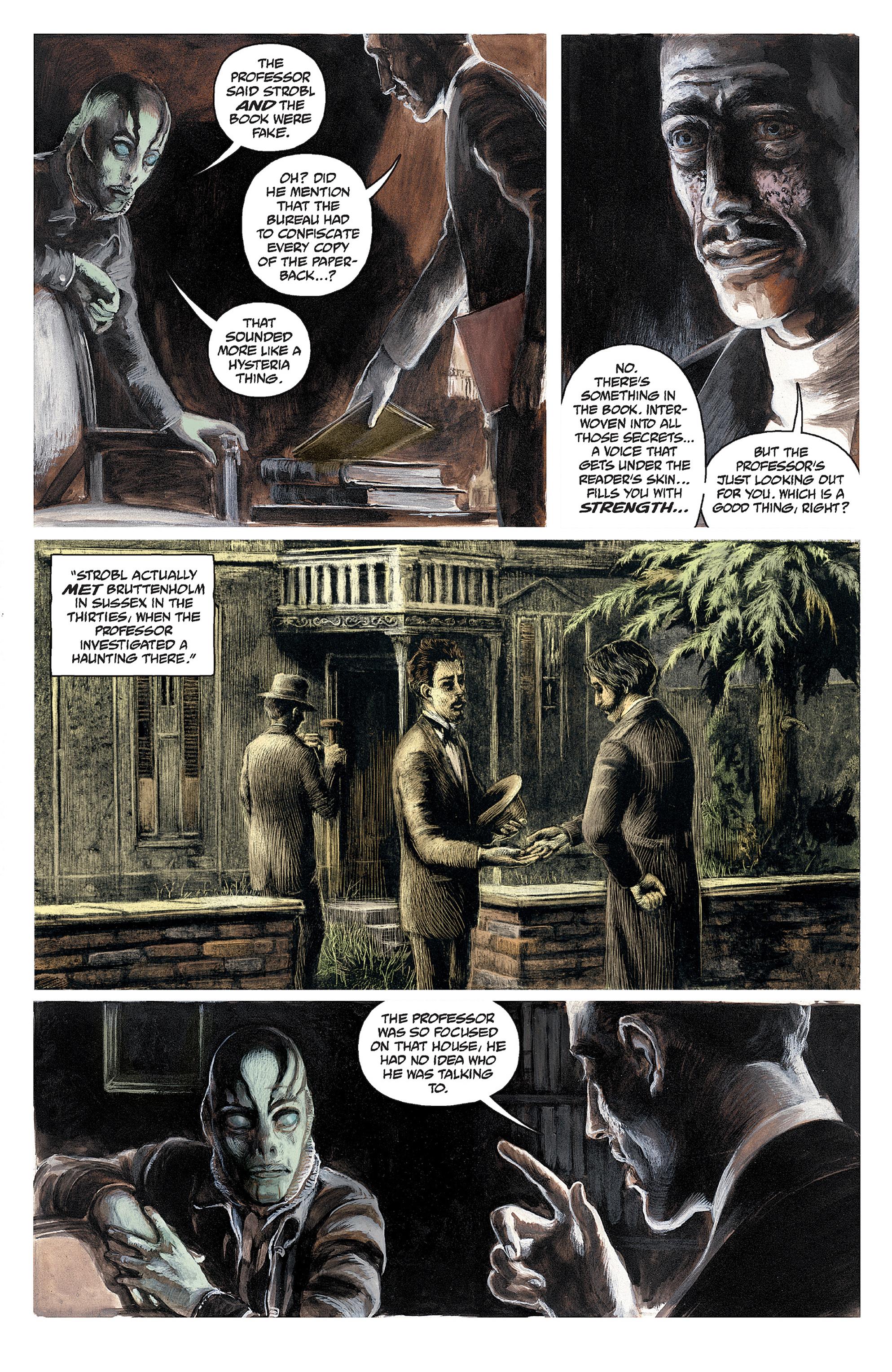 Read online Abe Sapien comic -  Issue #30 - 19