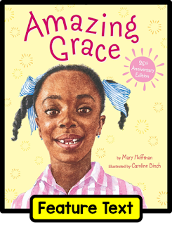 Grace is a creative and determined young lady, and she's a wonderful model for illustrating voice in literature. Check out this post on teaching students to find their voice in writing.