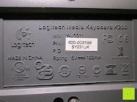 Symbole: Logitech K200 Tastatur USB schnurgebunden schwarz OEM (deutsches Tastaturlayout, QWERTZ)