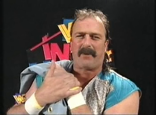 WWF / WWE - IN YOUR HOUSE 7 - GOOD FRIENDS BETTER ENEMIES - Jake Roberts promises to bring his snake out for a match against British Bulldog