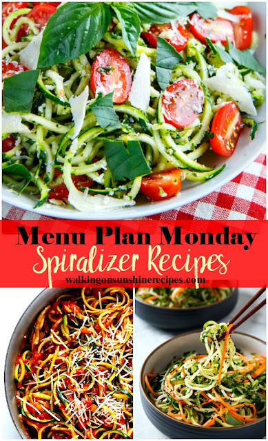 Spiralizer Recipes for Dinner