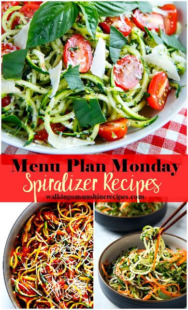 Spiralizer Recipes for Dinner