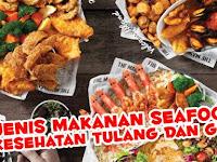 8 Makanan Seafood Untuk Menjaga Kesehatan Gigi dan Tulang