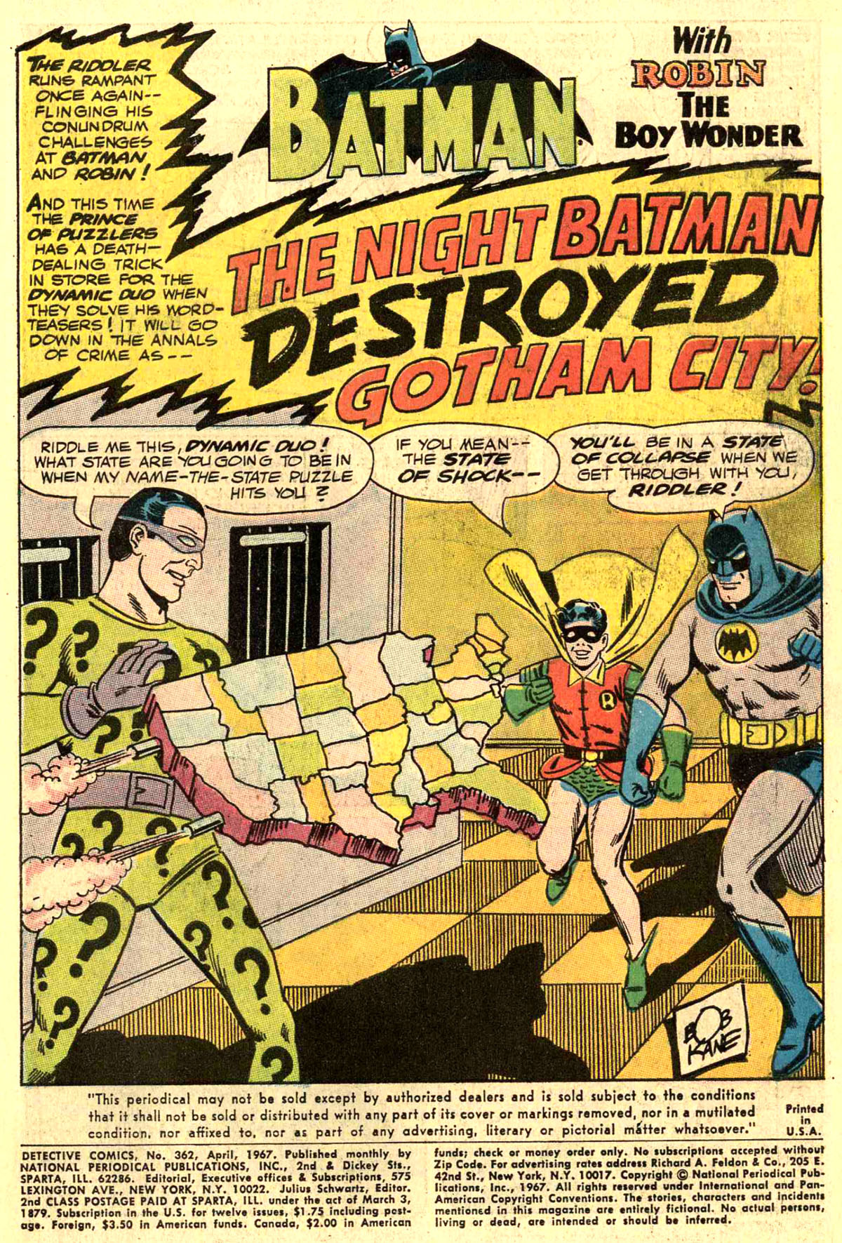 Detective Comics (1937) 362 Page 2