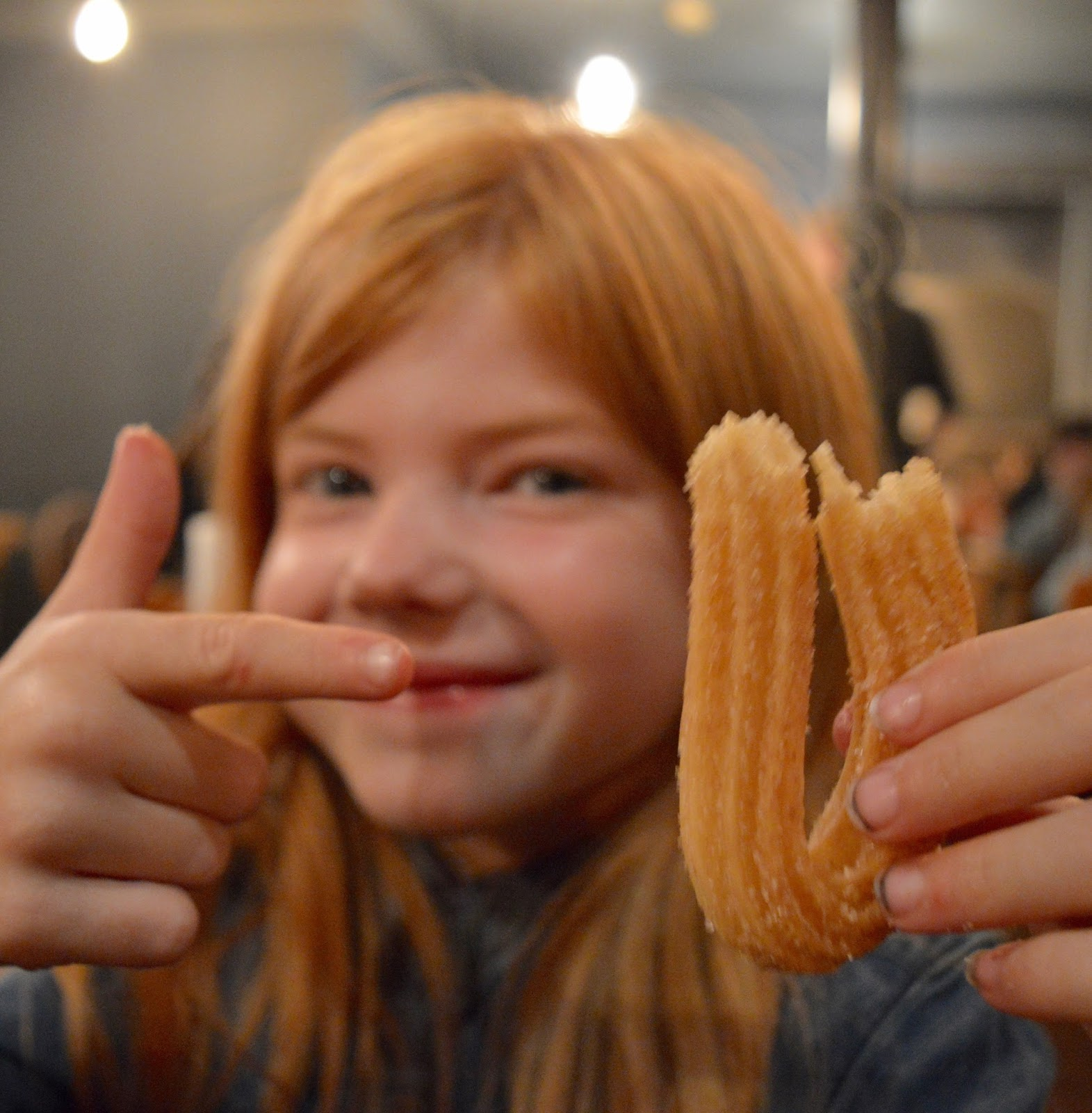 The Fat Hippo Underground with Kids | Simply the Best Burgers in Newcastle - Churros Dessert