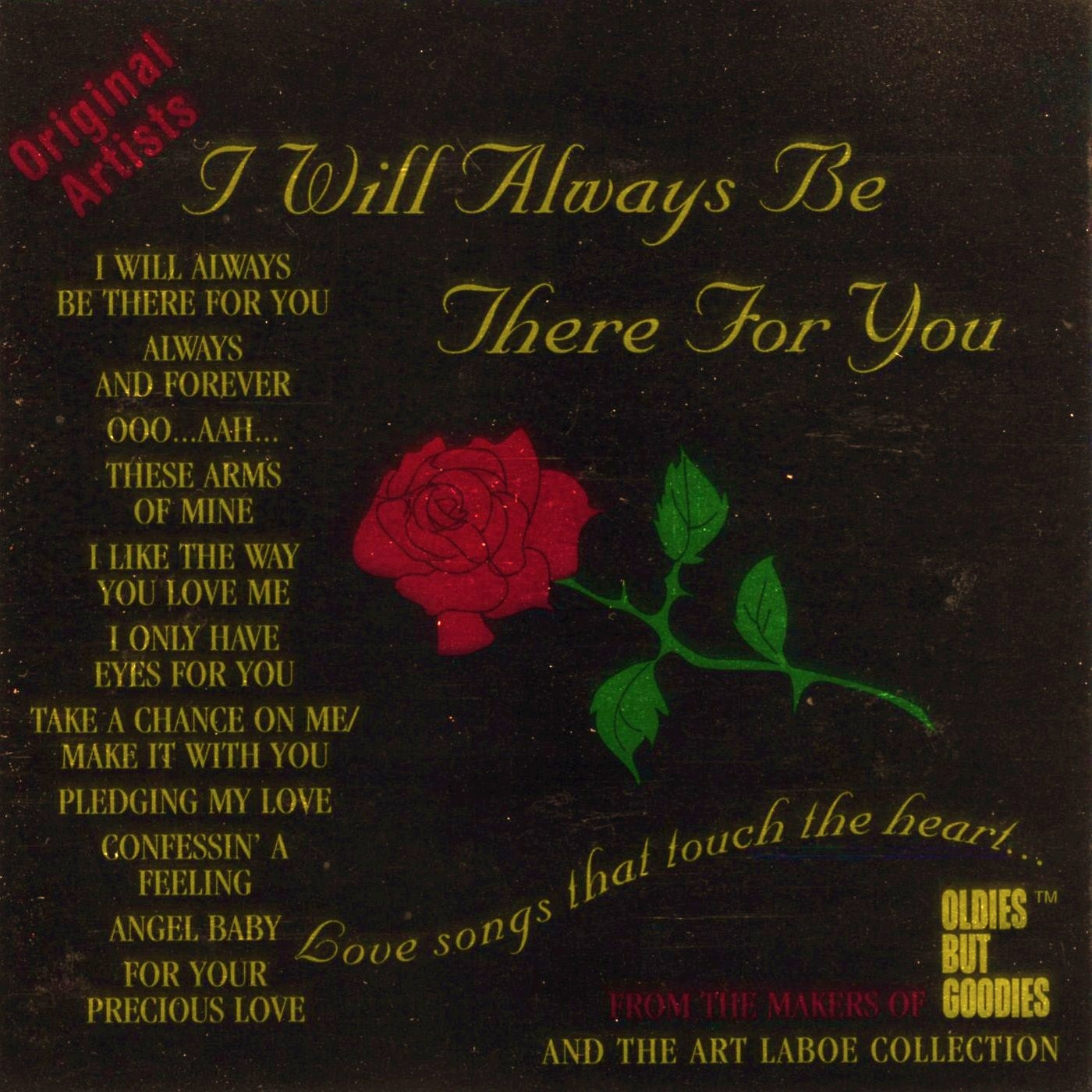 Quotes About Love Relationships: Doo Wop N Soul Oldies: I Will Always Be There For You