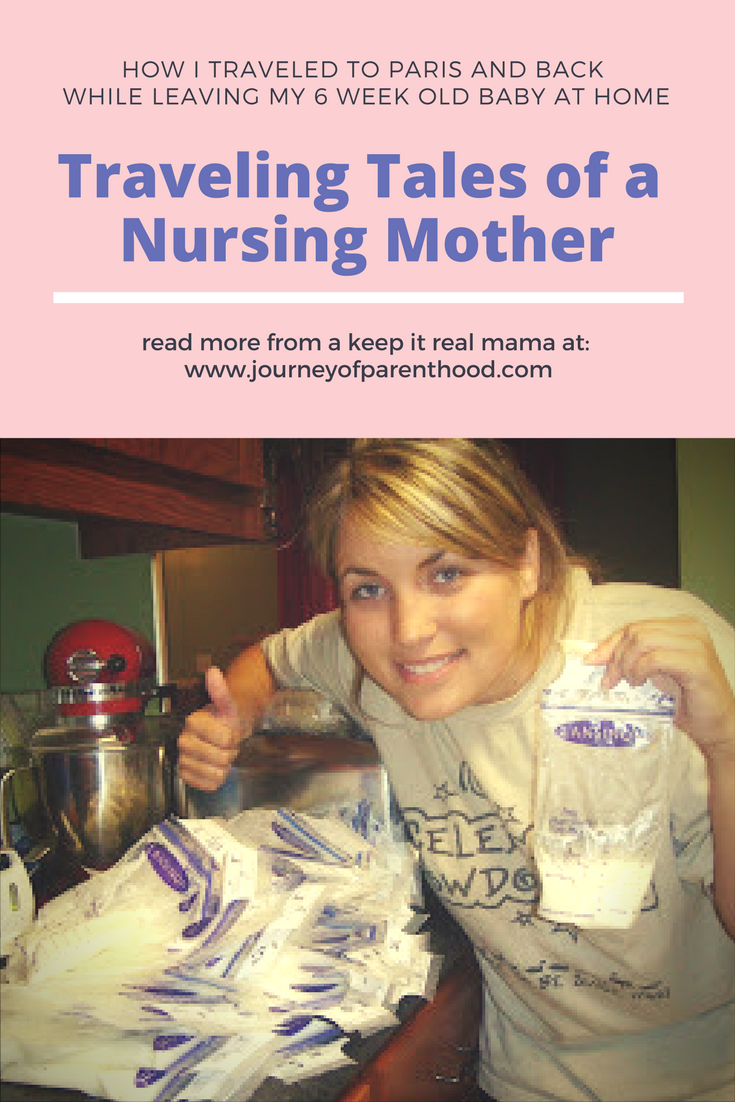 Traveling Tales of a Nursing Mother