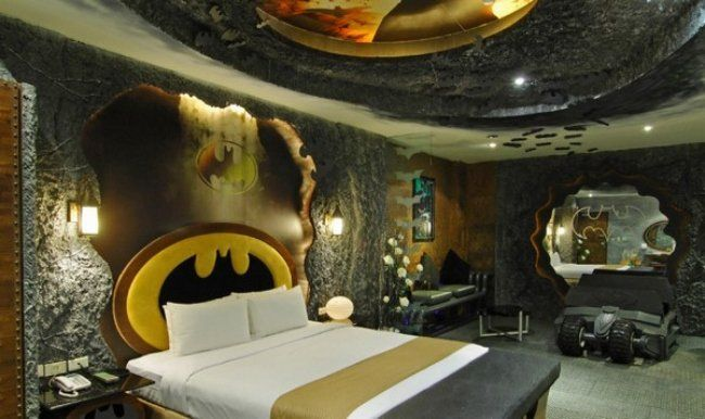 DORMITORIOS BATMAN BEDROOM DECORATING