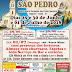 Cartaz para Festa de São Pedro - Paróquia Itajaí / SC