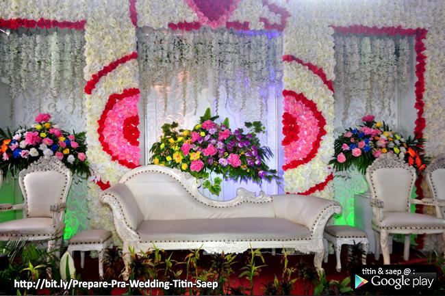 Dekorasi Pelaminan TITIN & SAEP - 08 Juli 2016 - KLIKMG Wedding Decoration