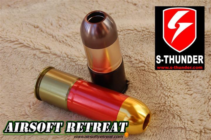 S-Thunder Shocker Top/Green Gas 40mm Grenade Shell