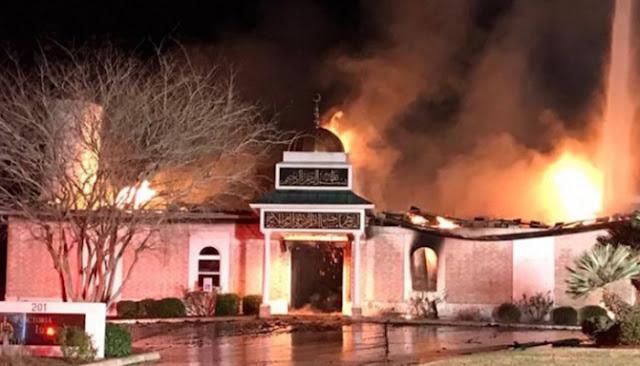 Dalam Sehari, Warga Amerika Kumpulkan Dana Rp 11 Miliar Bangun Masjid yang Terbakar