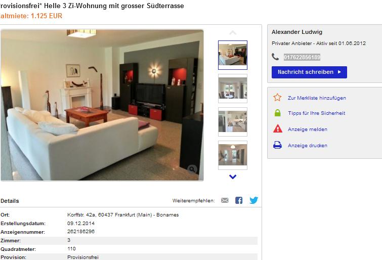 Wohnung Fellbach Provisionsfrei