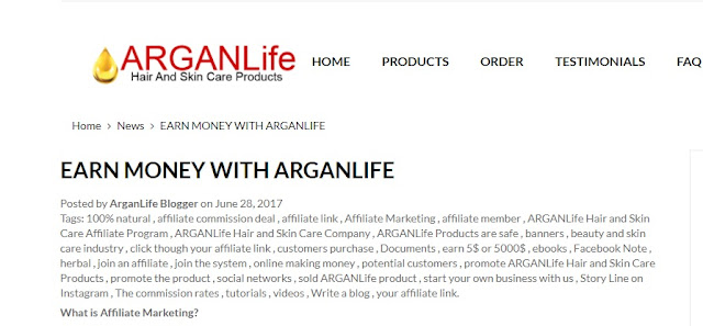 ARGANLife is The Money