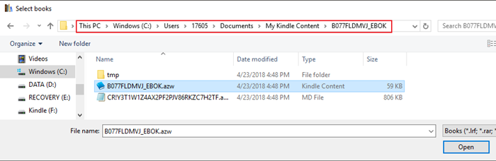 Calibre can Convert Kindle KFX to PDF/Epub/Mobi Now! | eBook