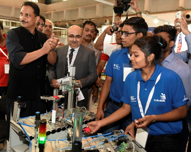 Day 2 of IndiaSkills Competition 2016:  the Nation's biggest skill competition