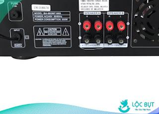 Điện trở amply thường có điện trở 4 đến 10 ôm