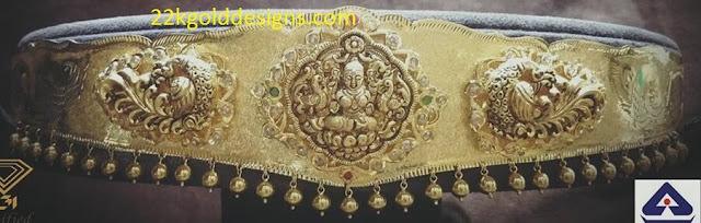 Nakshi Work Waist Belt