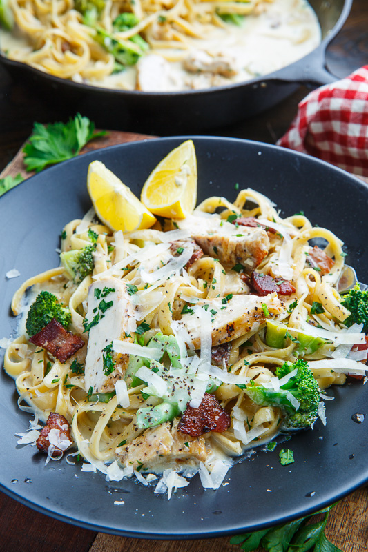 Chicken Linguine With Broccoli