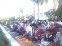 Shalat Idul Adha di Halaman Kantor Pemkot Bima Berjalan Tertib dan Lancar