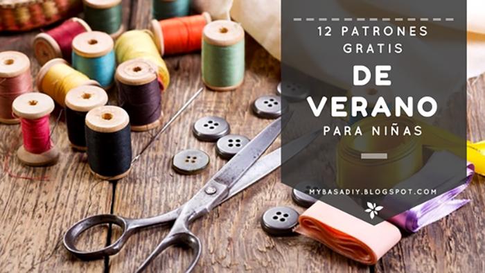 COSER PATRONES BLUSA PANTALON VESTIDO PIJAMA DIY GRATIS NIÑAS VERANO PASO A PASO