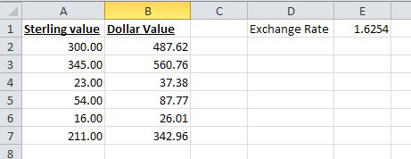 Not Just Numbers: EXCEL TIP: The dollar sign ($) in a