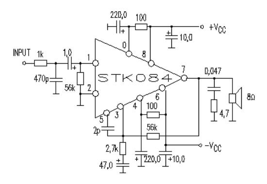 50W Power Amplifier ~ AmplifierCircuits.com