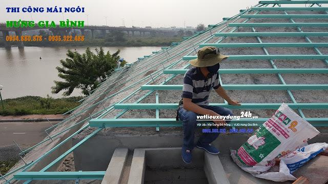 Nhà thầu thi công mái ngói chuyên nghiệp tại Đà Nẵng, Hội An
