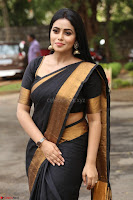Poorna in Cute Backless Choli Saree Stunning Beauty at Avantika Movie platinum Disc Function ~  Exclusive 095.JPG